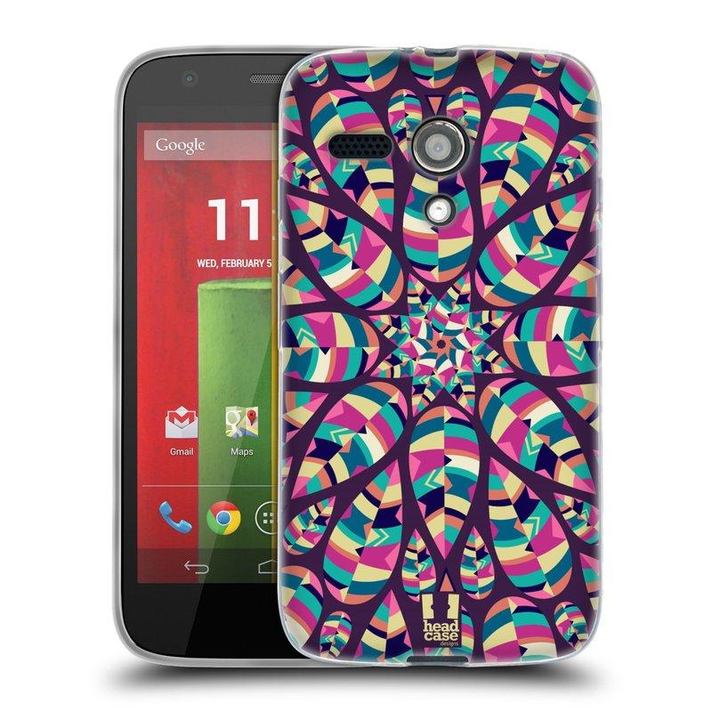 Silikonové pouzdro na mobil Motorola Moto G HEAD CASE Shine (Silikonový kryt či obal na mobilní telefon Motorola Moto G)