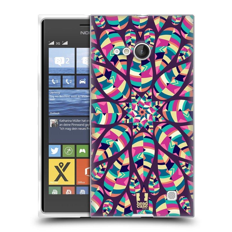 Silikonové pouzdro na mobil Nokia Lumia 735 HEAD CASE Shine (Silikonový kryt či obal na mobilní telefon Nokia Lumia 735)
