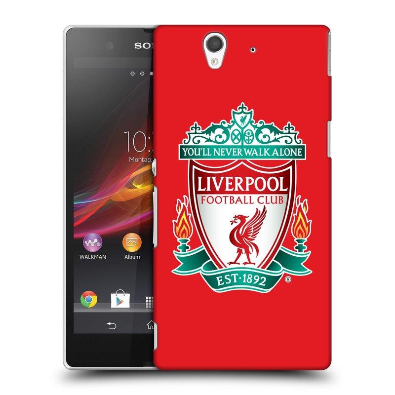 Plastové pouzdro na mobil Sony Xperia Z C6603 HEAD CASE ZNAK LIVERPOOL FC OFFICIAL RED (Kryt či obal na mobilní telefon Liverpool FC Official pro Sony Xperia Z)