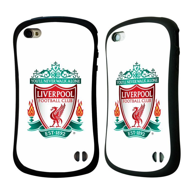 Nárazuvzdorné Plastové pouzdro na mobil Apple iPhone 4 a 4S HEAD CASE ZNAK LIVERPOOL FC OFFICIAL WHITE (Odolný nárazuvzdorný silikonový kryt či obal na mobilní telefon Liverpool FC Official pro Apple iPhone 4 a 4S)