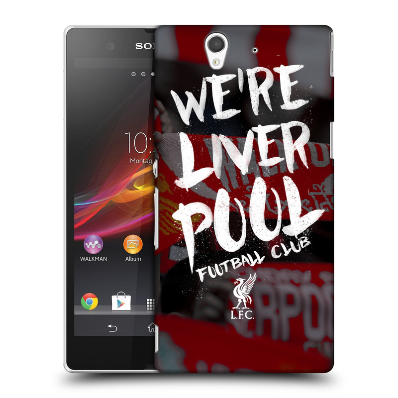 Plastové pouzdro na mobil Sony Xperia Z C6603 HEAD CASE We're Liverpool (Kryt či obal na mobilní telefon Liverpool FC Official pro Sony Xperia Z)