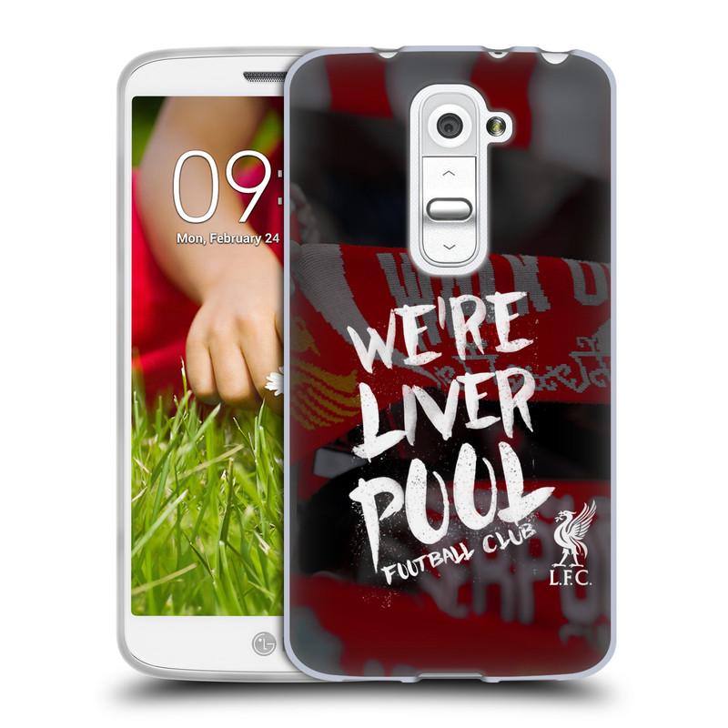 Silikonové pouzdro na mobil LG G2 Mini HEAD CASE We're Liverpool (Silikonový kryt či obal na mobilní telefon Liverpool FC Official pro LG G2 Mini D620)