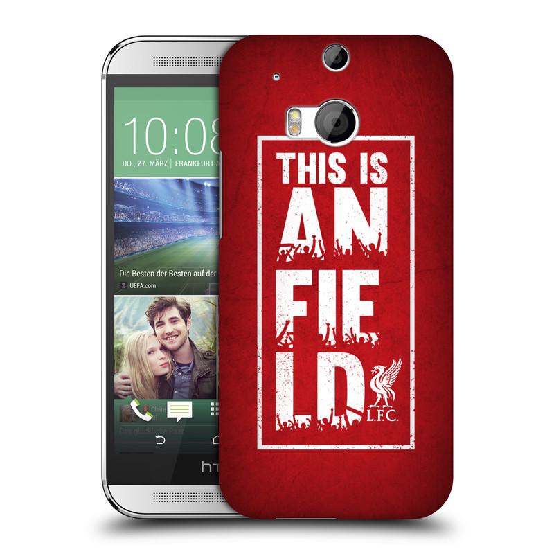 Plastové pouzdro na mobil HTC ONE M8 HEAD CASE Liverpool FC This Is Anfield Red (Kryt či obal na mobilní telefon Liverpool FC Official pro HTC ONE M8)