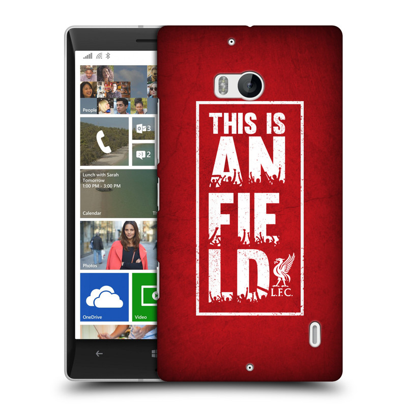 Plastové pouzdro na mobil Nokia Lumia 930 HEAD CASE Liverpool FC This Is Anfield Red (Kryt či obal na mobilní telefon Liverpool FC Official pro Nokia Lumia 930)