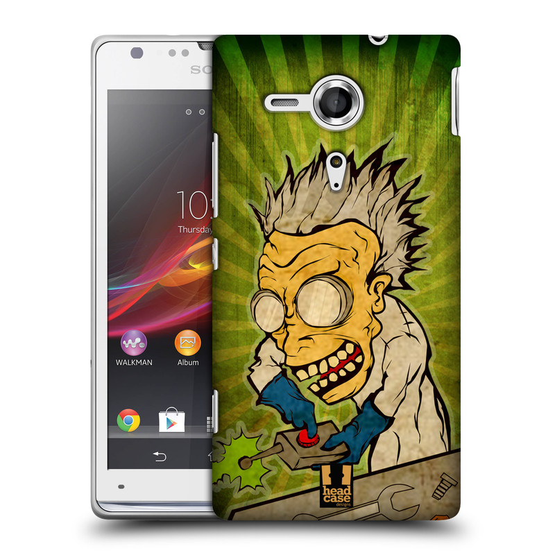 Plastové pouzdro na mobil Sony Xperia SP C5303 HEAD CASE INFUSE (Kryt či obal na mobilní telefon Sony Xperia SP )