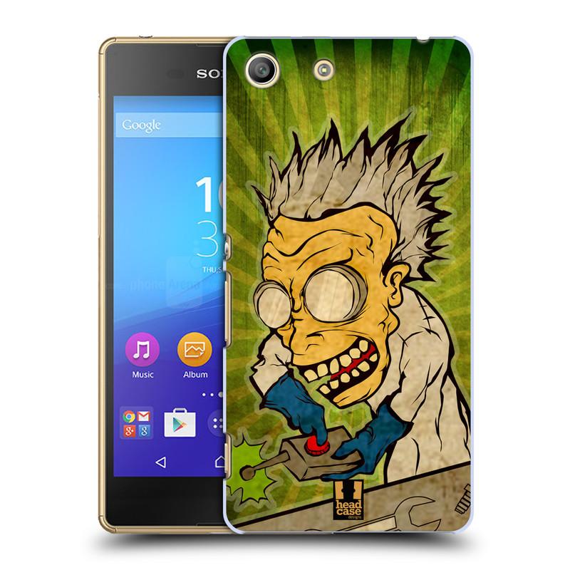 Plastové pouzdro na mobil Sony Xperia M5 HEAD CASE INFUSE (Kryt či obal na mobilní telefon Sony Xperia M5 Aqua)