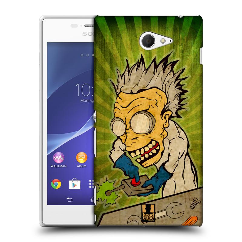 Plastové pouzdro na mobil Sony Xperia M2 D2303 HEAD CASE INFUSE (Kryt či obal na mobilní telefon Sony Xperia M2 )