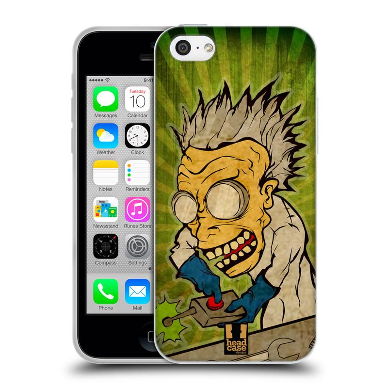 Silikonové pouzdro na mobil Apple iPhone 5C HEAD CASE INFUSE (Silikonový kryt či obal na mobilní telefon Apple iPhone 5C)