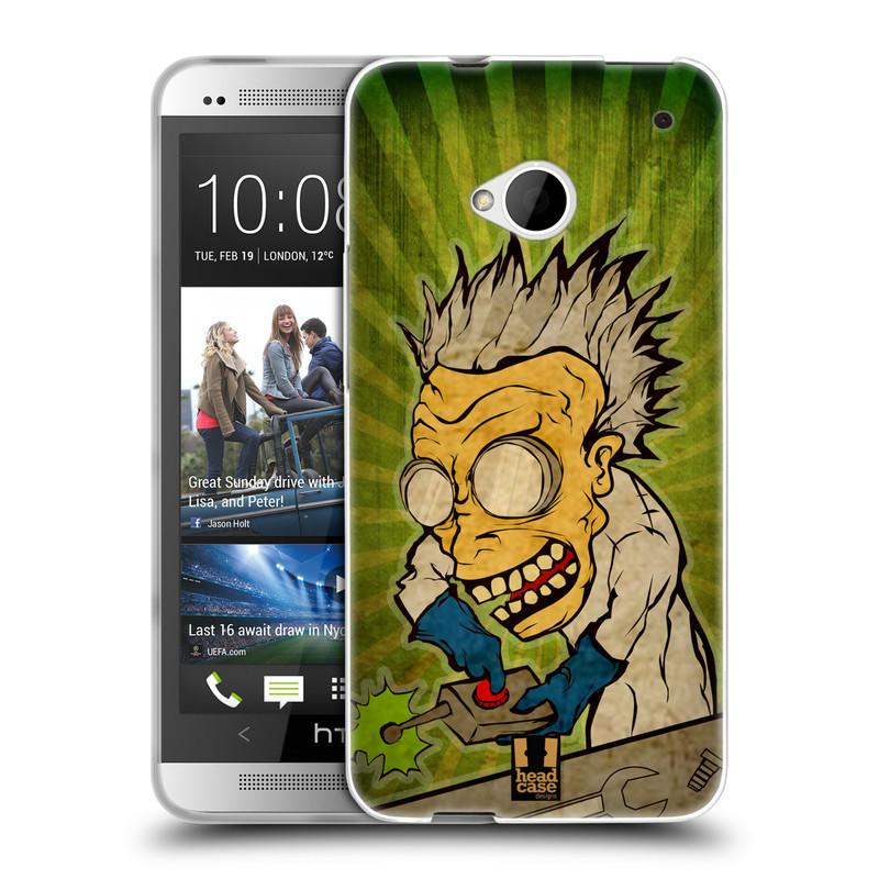 Silikonové pouzdro na mobil HTC ONE M7 HEAD CASE INFUSE (Silikonový kryt či obal na mobilní telefon HTC ONE M7)