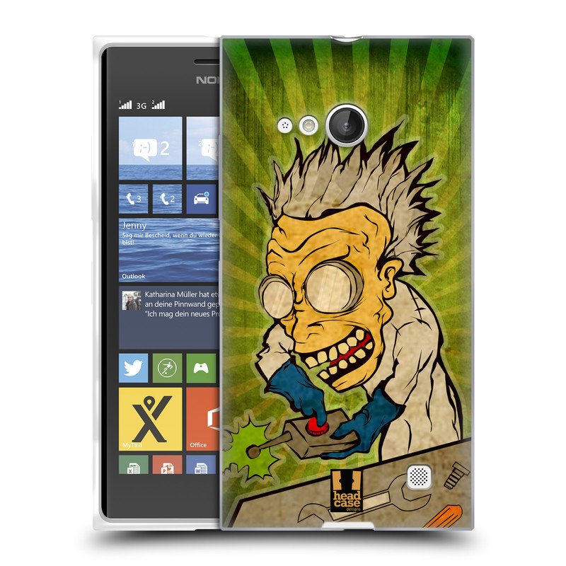 Silikonové pouzdro na mobil Nokia Lumia 735 HEAD CASE INFUSE (Silikonový kryt či obal na mobilní telefon Nokia Lumia 735)
