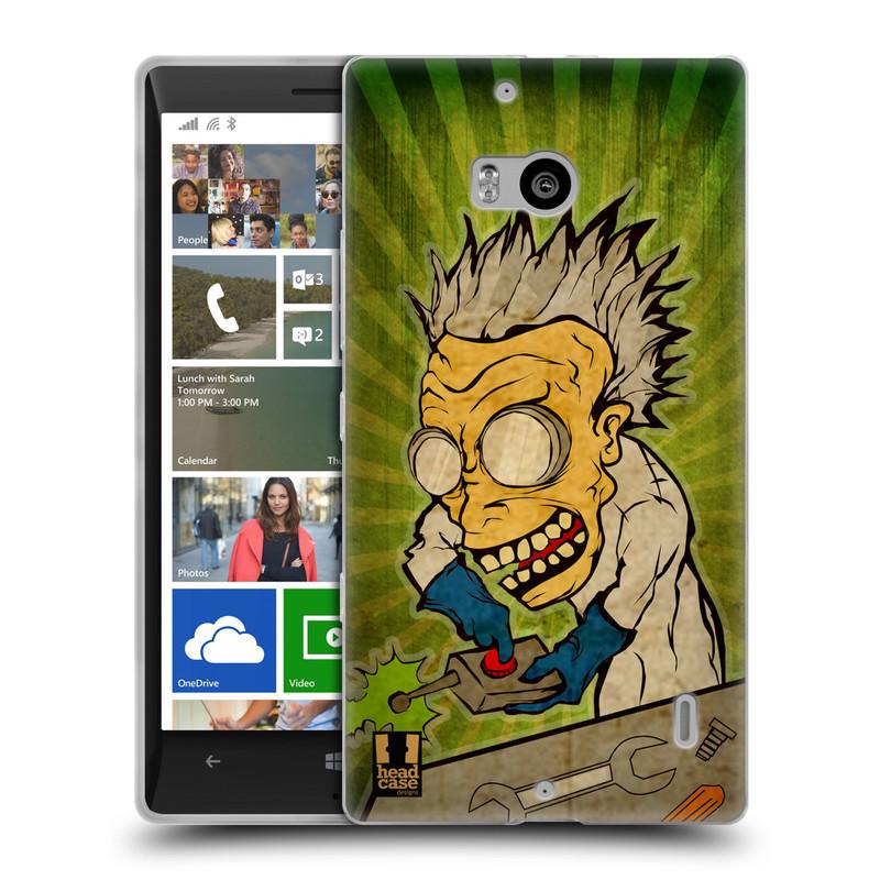 Silikonové pouzdro na mobil Nokia Lumia 930 HEAD CASE INFUSE (Silikonový kryt či obal na mobilní telefon Nokia Lumia 930)