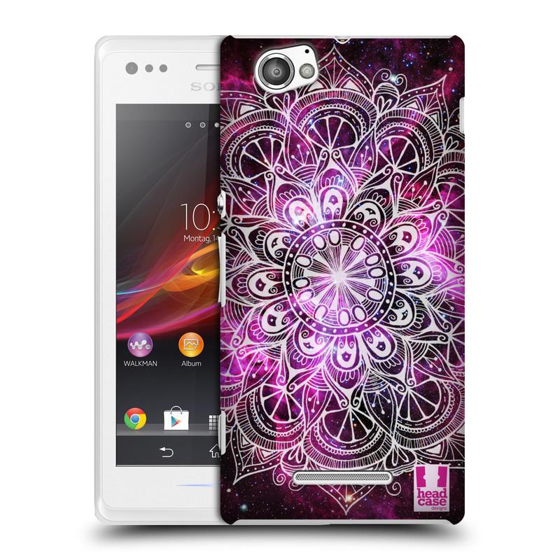 Plastové pouzdro na mobil Sony Xperia M C1905 HEAD CASE Mandala Doodle Nebula (Kryt či obal na mobilní telefon Sony Xperia M )