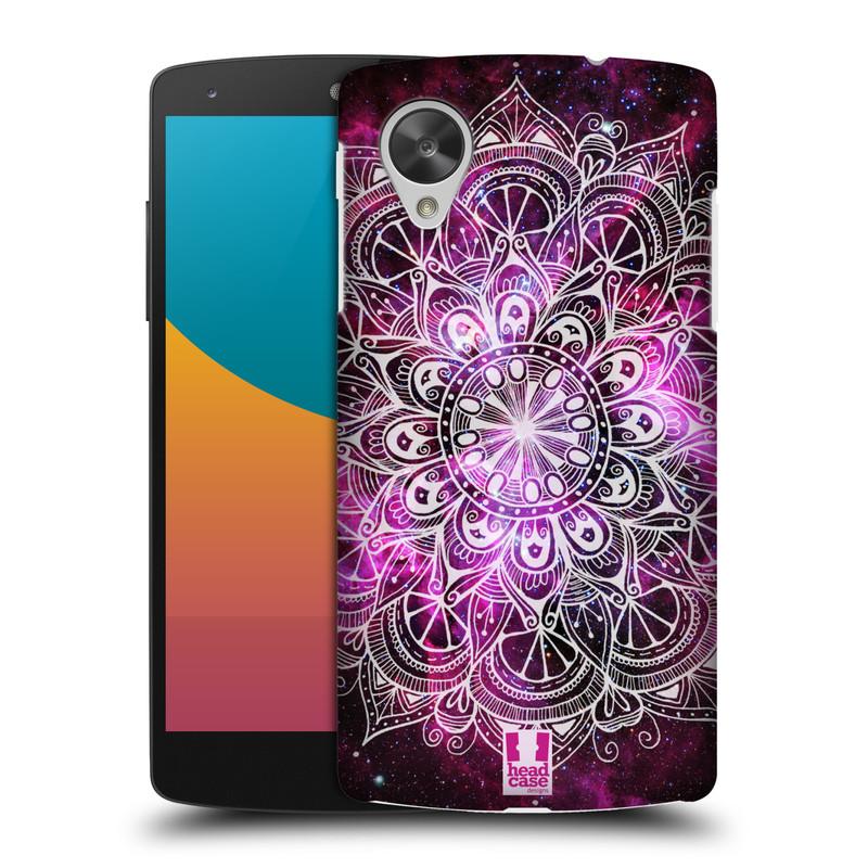 Plastové pouzdro na mobil LG Nexus 5 HEAD CASE Mandala Doodle Nebula (Kryt či obal na mobilní telefon LG Google Nexus 5 D821)