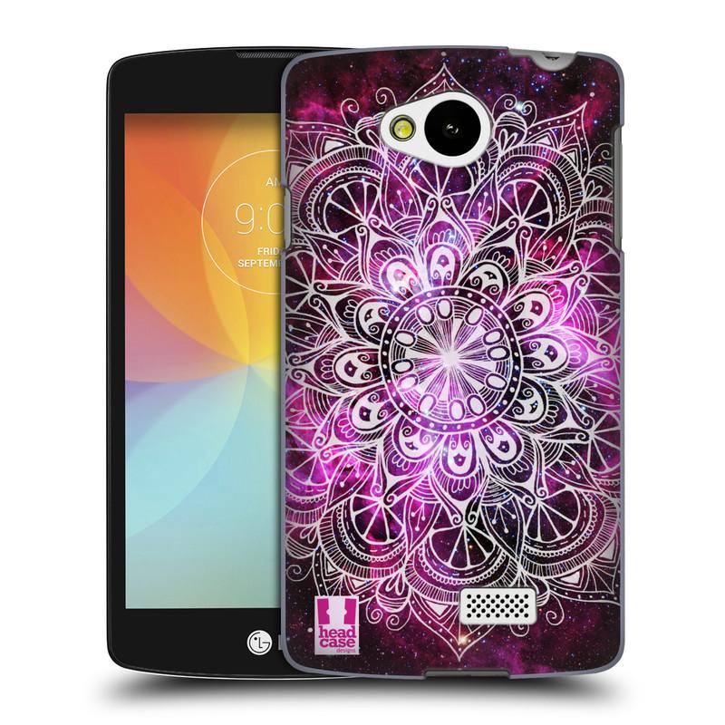 Plastové pouzdro na mobil LG F60 HEAD CASE Mandala Doodle Nebula (Kryt či obal na mobilní telefon LG F60 D390n)