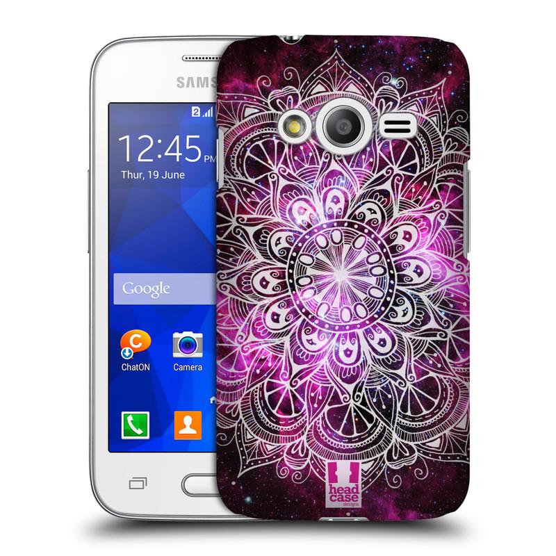 Plastové pouzdro na mobil Samsung Galaxy Trend 2 Lite HEAD CASE Mandala Doodle Nebula (Kryt či obal na mobilní telefon Samsung Galaxy Trend 2 Lite SM-G318)