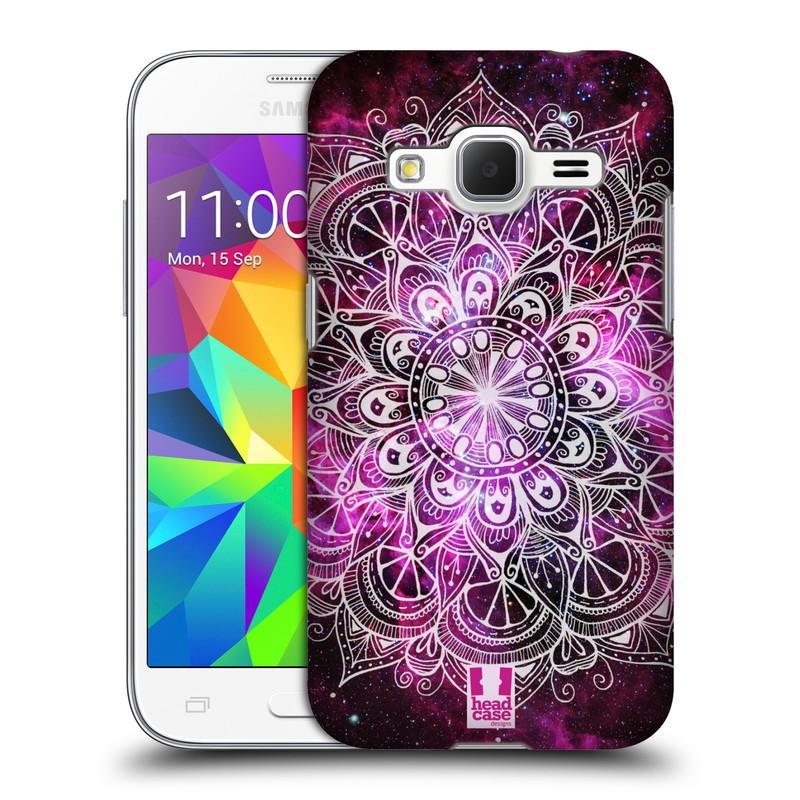 Plastové pouzdro na mobil Samsung Galaxy Core Prime LTE HEAD CASE Mandala Doodle Nebula (Kryt či obal na mobilní telefon Samsung Galaxy Core Prime LTE SM-G360)