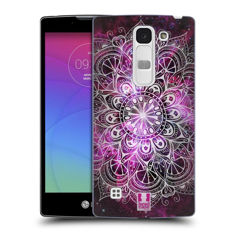 Plastové pouzdro na mobil LG Spirit LTE HEAD CASE Mandala Doodle Nebula (Kryt či obal na mobilní telefon LG Spirit H420 a LG Spirit LTE H440N)