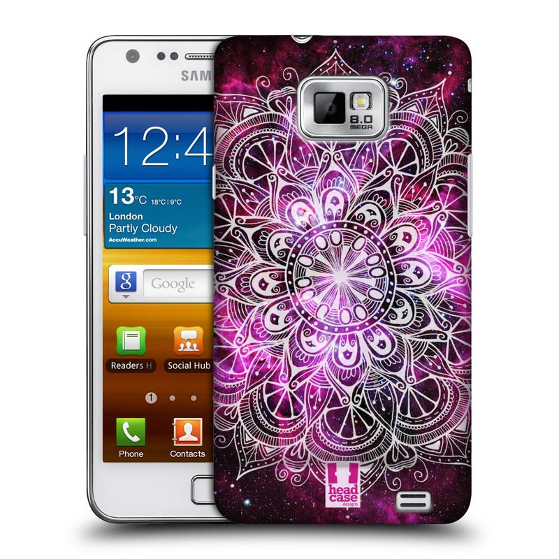Plastové pouzdro na mobil Samsung Galaxy S II HEAD CASE Mandala Doodle Nebula (Kryt či obal na mobilní telefon Samsung Galaxy S II GT-i9100)