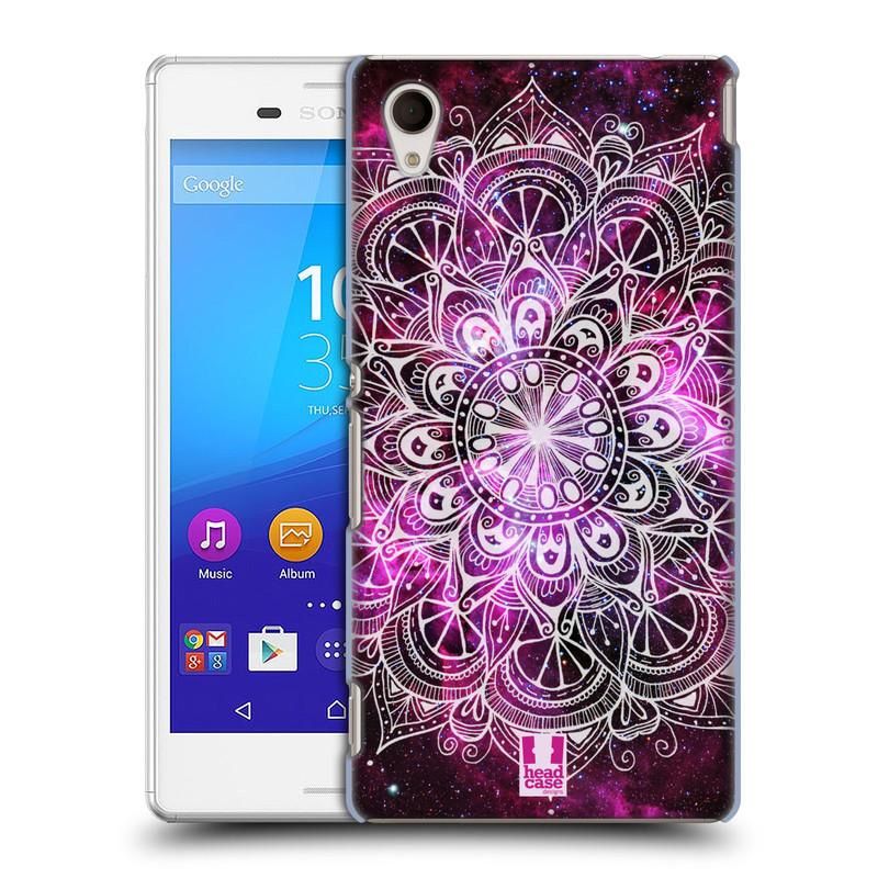 Plastové pouzdro na mobil Sony Xperia M4 Aqua E2303 HEAD CASE Mandala Doodle Nebula (Kryt či obal na mobilní telefon Sony Xperia M4 Aqua a M4 Aqua Dual SIM)