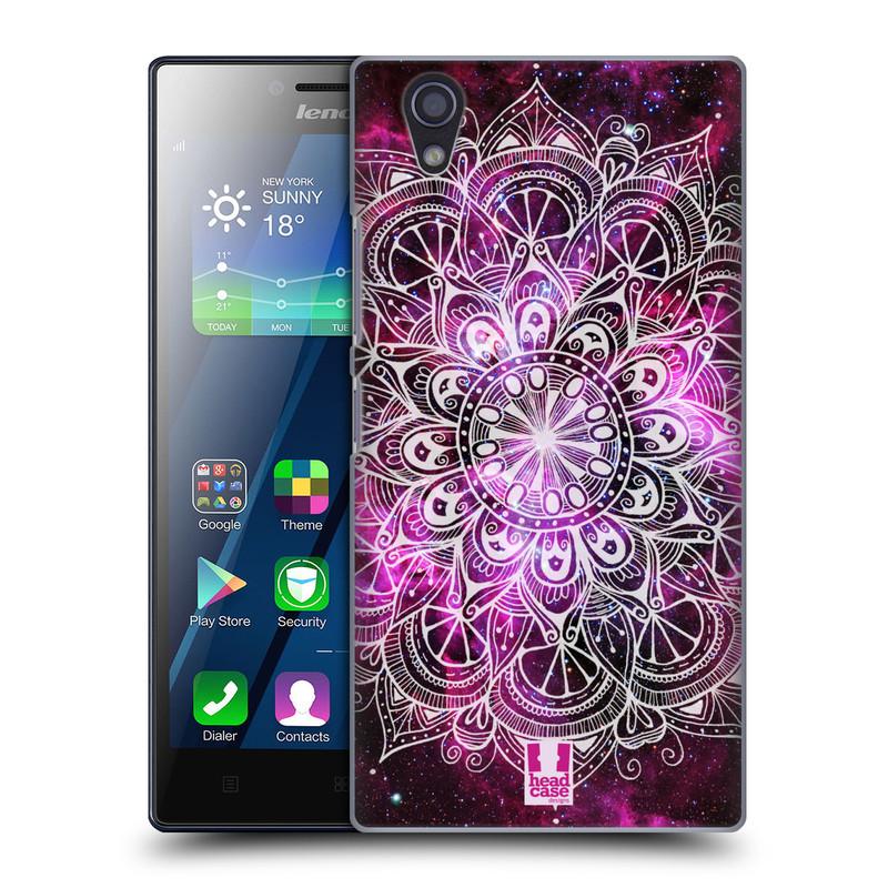 Plastové pouzdro na mobil Lenovo P70 HEAD CASE Mandala Doodle Nebula (Kryt či obal na mobilní telefon Lenovo P70)