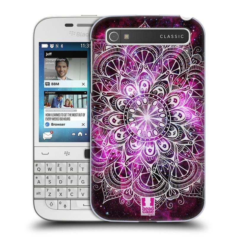 Plastové pouzdro na mobil Blackberry Classic HEAD CASE Mandala Doodle Nebula (Kryt či obal na mobilní telefon Blackberry Classic)