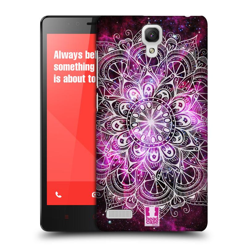 Plastové pouzdro na mobil Xiaomi Redmi Note LTE HEAD CASE Mandala Doodle Nebula (Kryt či obal na mobilní telefon Xiaomi Redmi Note LTE (4G) s 5,5'' displejem)