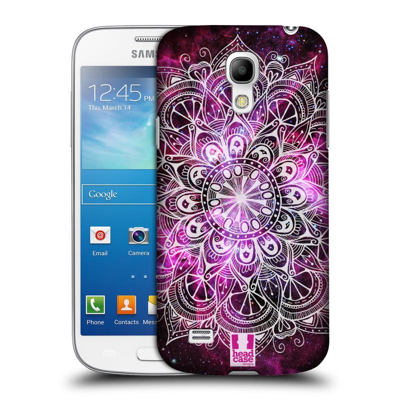 Plastové pouzdro na mobil Samsung Galaxy S4 Mini HEAD CASE Mandala Doodle Nebula (Kryt či obal na mobilní telefon Samsung Galaxy S4 Mini GT-i9195 / i9190)