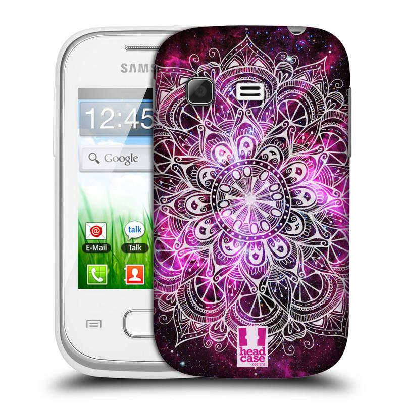 Plastové pouzdro na mobil Samsung Galaxy Pocket HEAD CASE Mandala Doodle Nebula (Kryt či obal na mobilní telefon Samsung Galaxy Pocket GT-S5300)