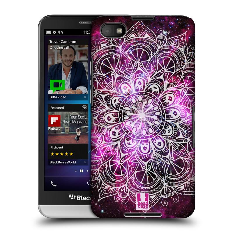 Plastové pouzdro na mobil Blackberry Z30 HEAD CASE Mandala Doodle Nebula (Kryt či obal na mobilní telefon Blackberry Z30)