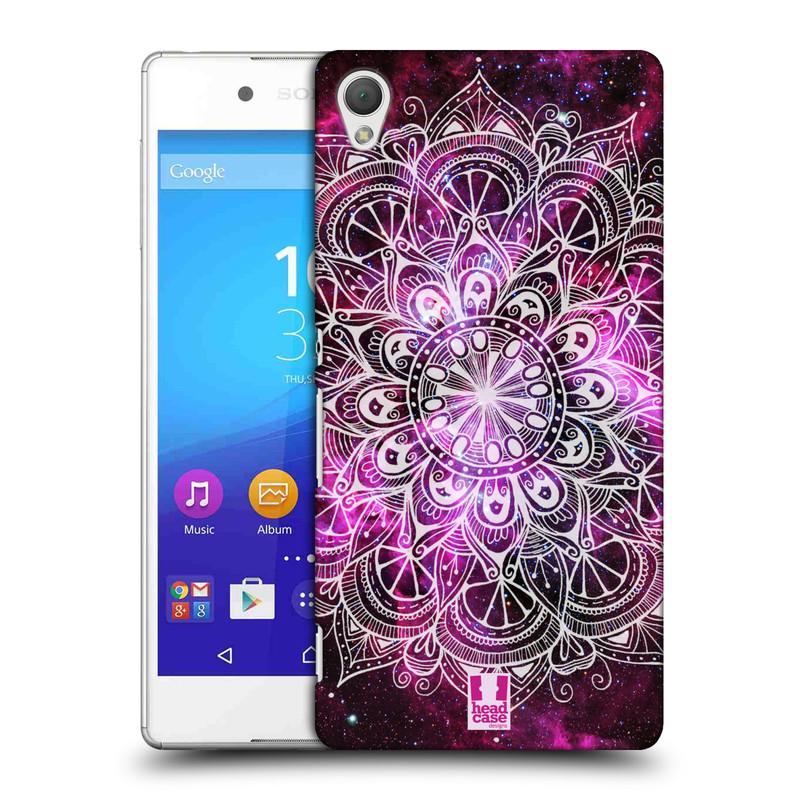 Plastové pouzdro na mobil Sony Xperia Z3+ (Plus) HEAD CASE Mandala Doodle Nebula (Kryt či obal na mobilní telefon Sony Xperia Z3+ a Sony Xperia Z4 )