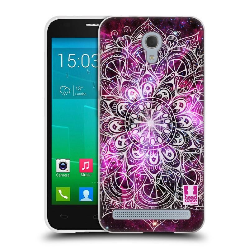 Silikonové pouzdro na mobil Alcatel One Touch Idol 2 Mini S 6036Y HEAD CASE Mandala Doodle Nebula (Silikonový kryt či obal na mobilní telefon Alcatel Idol 2 Mini S OT-6036Y)
