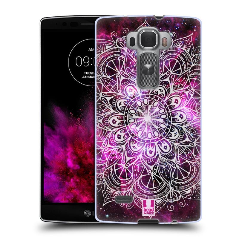 Silikonové pouzdro na mobil LG G Flex 2 HEAD CASE Mandala Doodle Nebula (Silikonový kryt či obal na mobilní telefon LG G Flex 2 H955)
