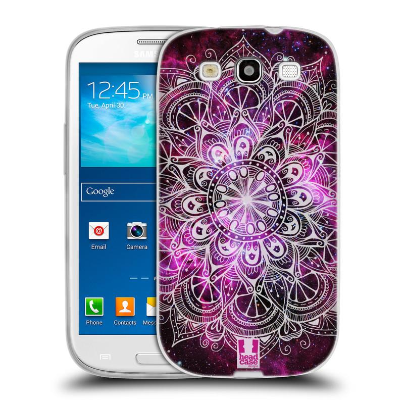 Silikonové pouzdro na mobil Samsung Galaxy S3 Neo HEAD CASE Mandala Doodle Nebula (Silikonový kryt či obal na mobilní telefon Samsung Galaxy S3 Neo GT-i9301i)