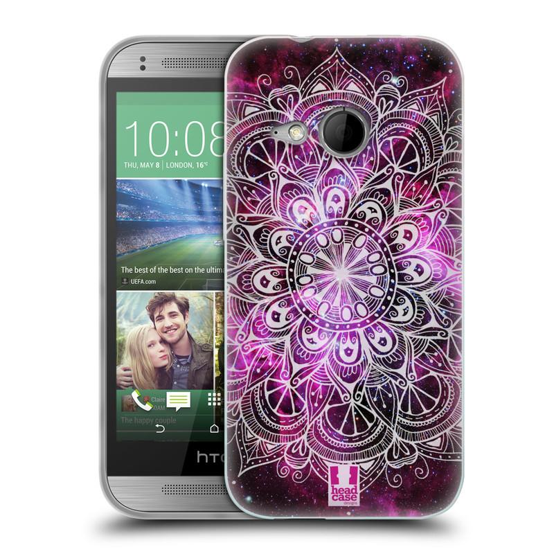 Silikonové pouzdro na mobil HTC ONE Mini 2 HEAD CASE Mandala Doodle Nebula (Silikonový kryt či obal na mobilní telefon HTC ONE Mini 2)