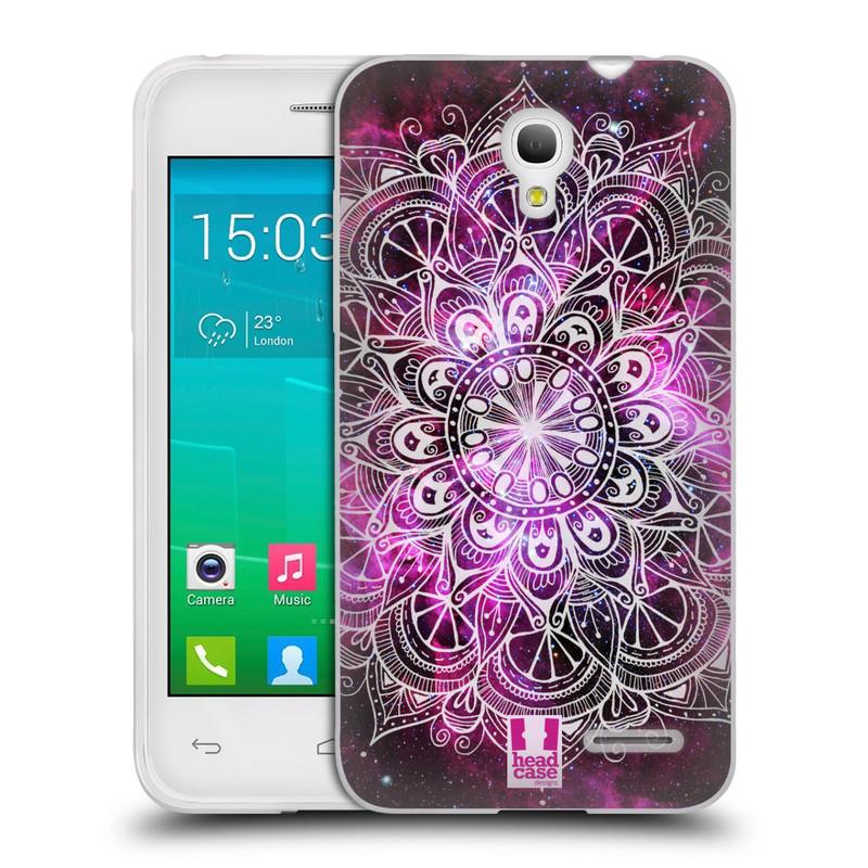 Silikonové pouzdro na mobil Alcatel One Touch Pop S3 HEAD CASE Mandala Doodle Nebula (Silikonový kryt či obal na mobilní telefon Alcatel OT- 5050Y POP S3)