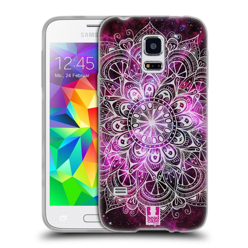 Silikonové pouzdro na mobil Samsung Galaxy S5 Mini HEAD CASE Mandala Doodle Nebula (Silikonový kryt či obal na mobilní telefon Samsung Galaxy S5 Mini SM-G800F)