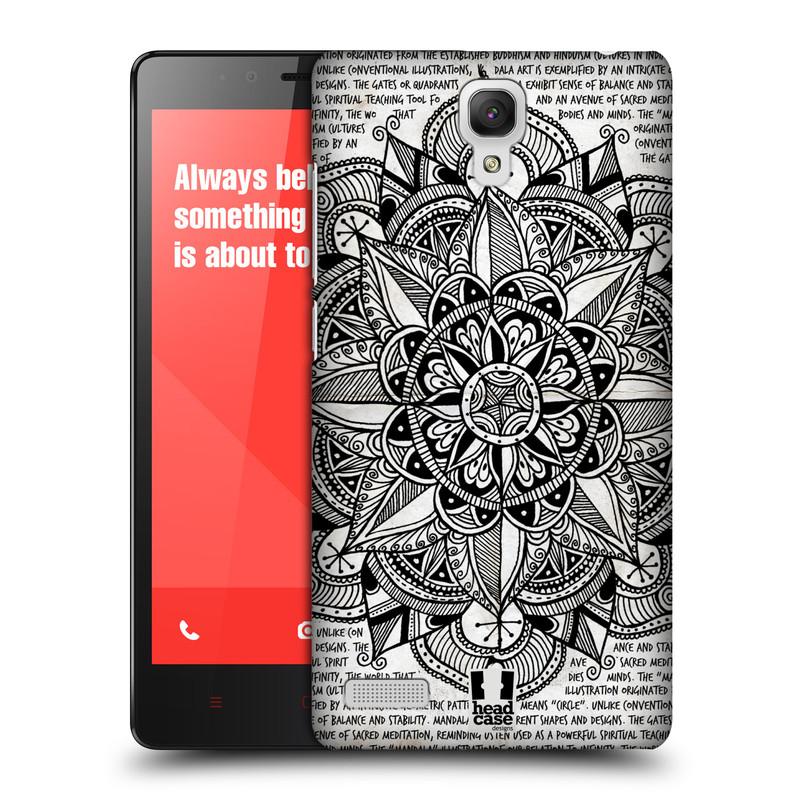 Plastové pouzdro na mobil Xiaomi Redmi Note LTE HEAD CASE Mandala Doodle Paper (Kryt či obal na mobilní telefon Xiaomi Redmi Note LTE (4G) s 5,5'' displejem)