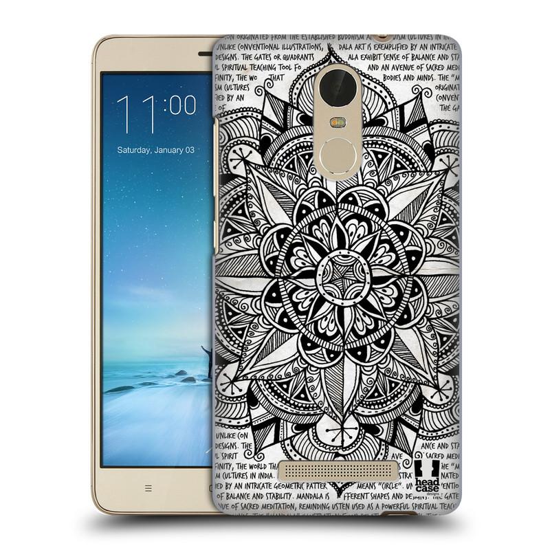 "Plastové pouzdro na mobil Xiaomi Redmi Note 3 HEAD CASE Mandala Doodle Paper (Kryt či obal na mobilní telefon Xiaomi Redmi Note 3 s 5,5"" displejem)"