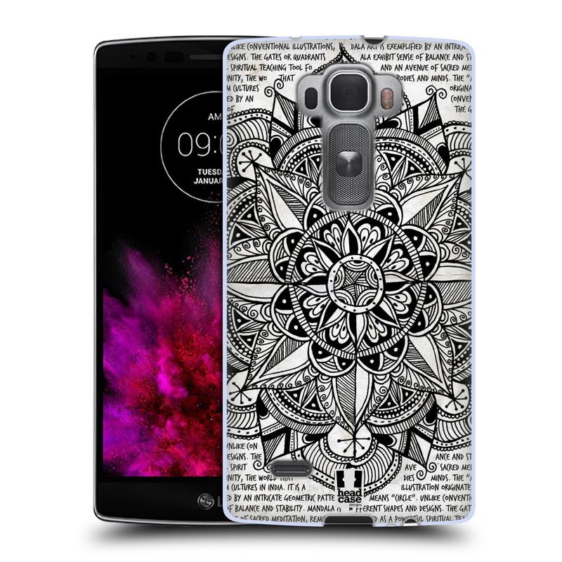 Silikonové pouzdro na mobil LG G Flex 2 HEAD CASE Mandala Doodle Paper (Silikonový kryt či obal na mobilní telefon LG G Flex 2 H955)