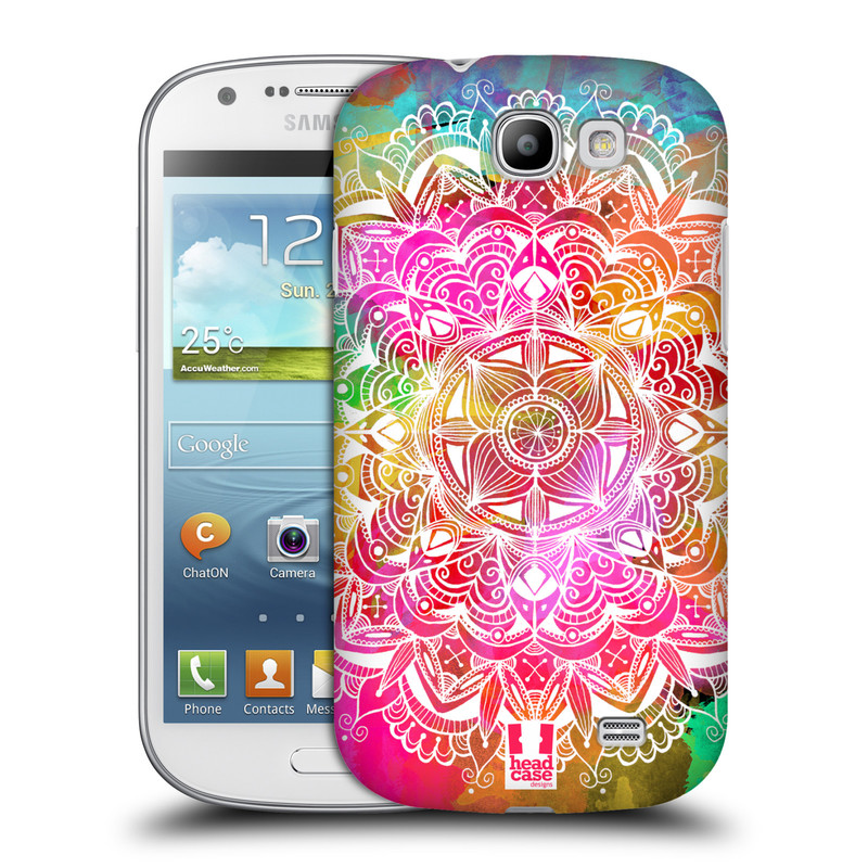 Plastové pouzdro na mobil Samsung Galaxy Express HEAD CASE Mandala Doodle Watercolour (Kryt či obal na mobilní telefon Samsung Galaxy Express GT-i8730)