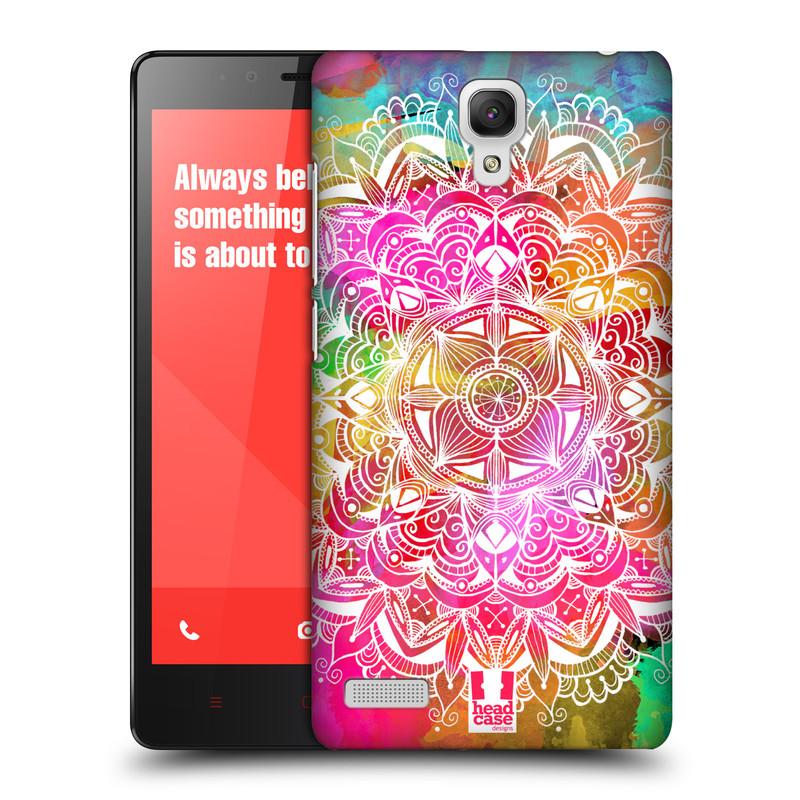 Plastové pouzdro na mobil Xiaomi Redmi Note LTE HEAD CASE Mandala Doodle Watercolour (Kryt či obal na mobilní telefon Xiaomi Redmi Note LTE (4G) s 5,5'' displejem)