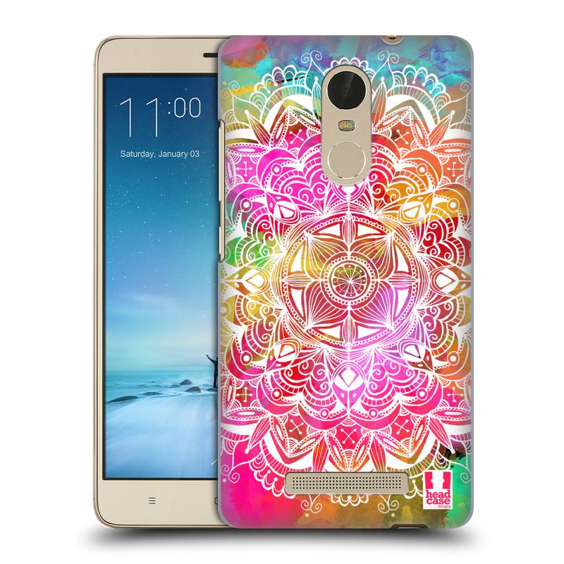 "Plastové pouzdro na mobil Xiaomi Redmi Note 3 HEAD CASE Mandala Doodle Watercolour (Kryt či obal na mobilní telefon Xiaomi Redmi Note 3 s 5,5"" displejem)"