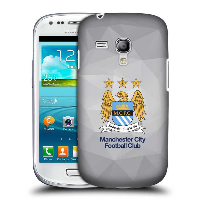Plastové pouzdro na mobil Samsung Galaxy S III Mini VE HEAD CASE Manchester City FC - Football Club (Kryt či obal na mobilní telefon s licencovaným motivem Manchester City FC pro Samsung Galaxy S3 Mini VE GT-i8200)