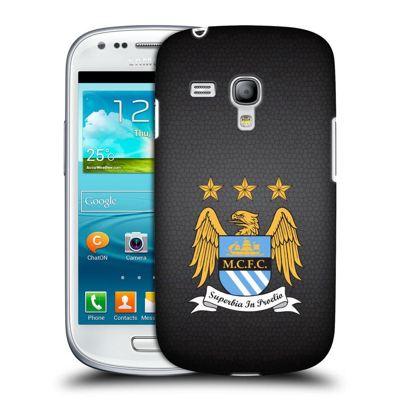 Plastové pouzdro na mobil Samsung Galaxy S III Mini VE HEAD CASE Manchester City FC - Superbia In Proelio (Kryt či obal na mobilní telefon s licencovaným motivem Manchester City FC pro Samsung Galaxy S3 Mini VE GT-i8200)