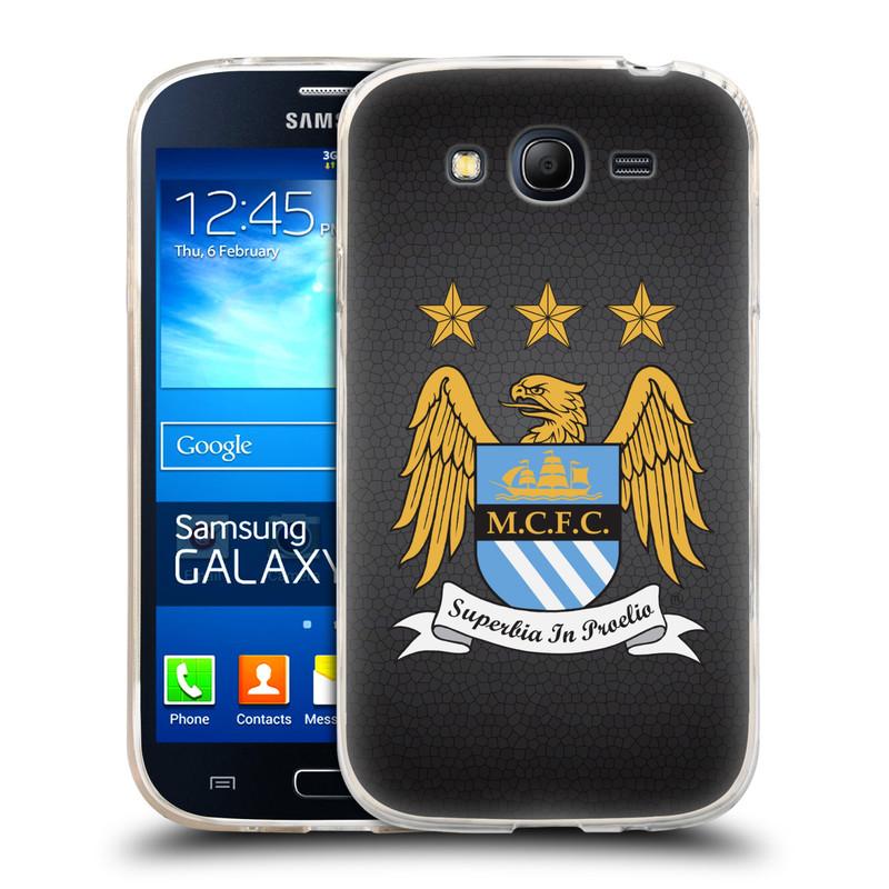 Silikonové pouzdro na mobil Samsung Galaxy Grand Neo Plus HEAD CASE Manchester City FC - Superbia In Proelio (Silikonový kryt či obal na mobilní telefon s licencovaným motivem Manchester City FC pro Samsung Galaxy Grand Neo Plus Duos GT-I9060i)