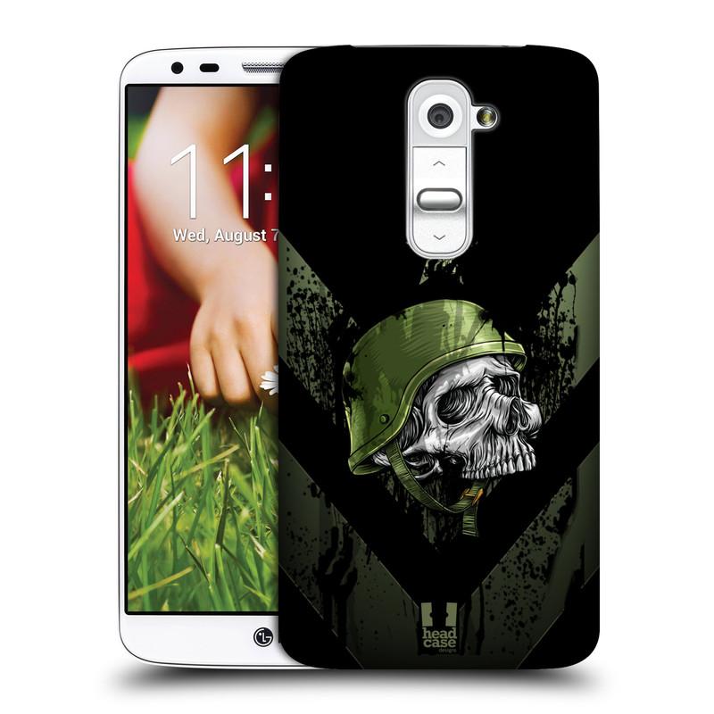Plastové pouzdro na mobil LG G2 HEAD CASE LEBKA ONE MAN (Kryt či obal na mobilní telefon LG G2 D802)