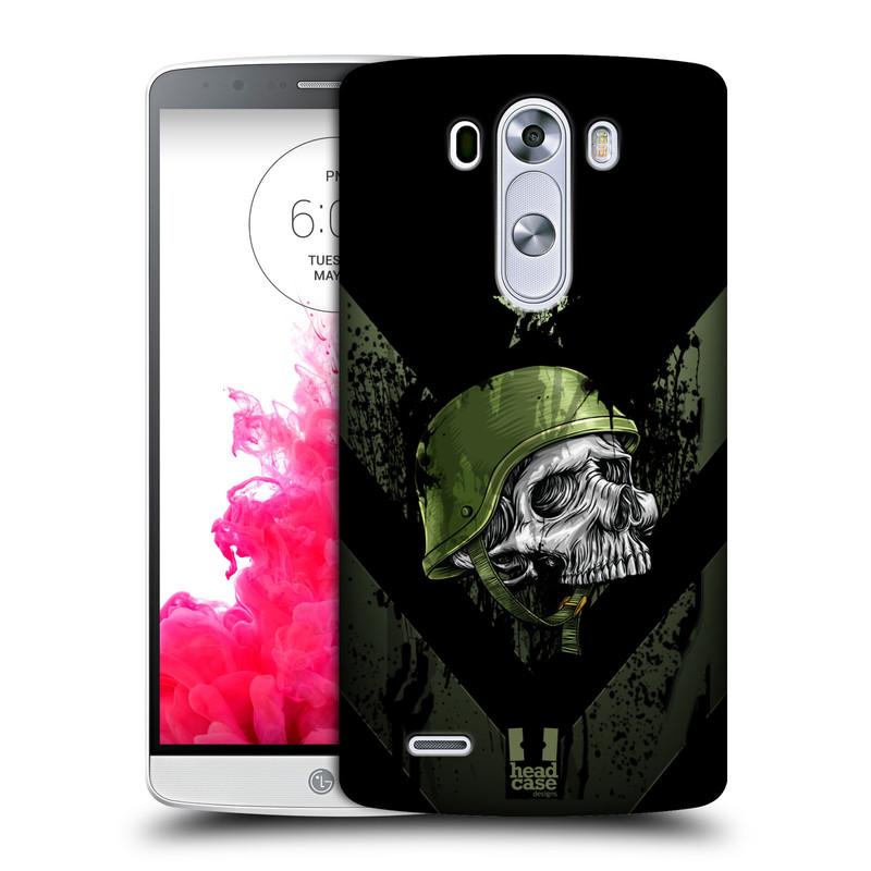 Plastové pouzdro na mobil LG G3 HEAD CASE LEBKA ONE MAN (Kryt či obal na mobilní telefon LG G3 D855)