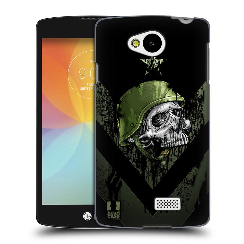 Plastové pouzdro na mobil LG F60 HEAD CASE LEBKA ONE MAN (Kryt či obal na mobilní telefon LG F60 D390n)