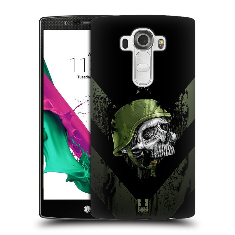 Plastové pouzdro na mobil LG G4 HEAD CASE LEBKA ONE MAN (Kryt či obal na mobilní telefon LG G4 H815)