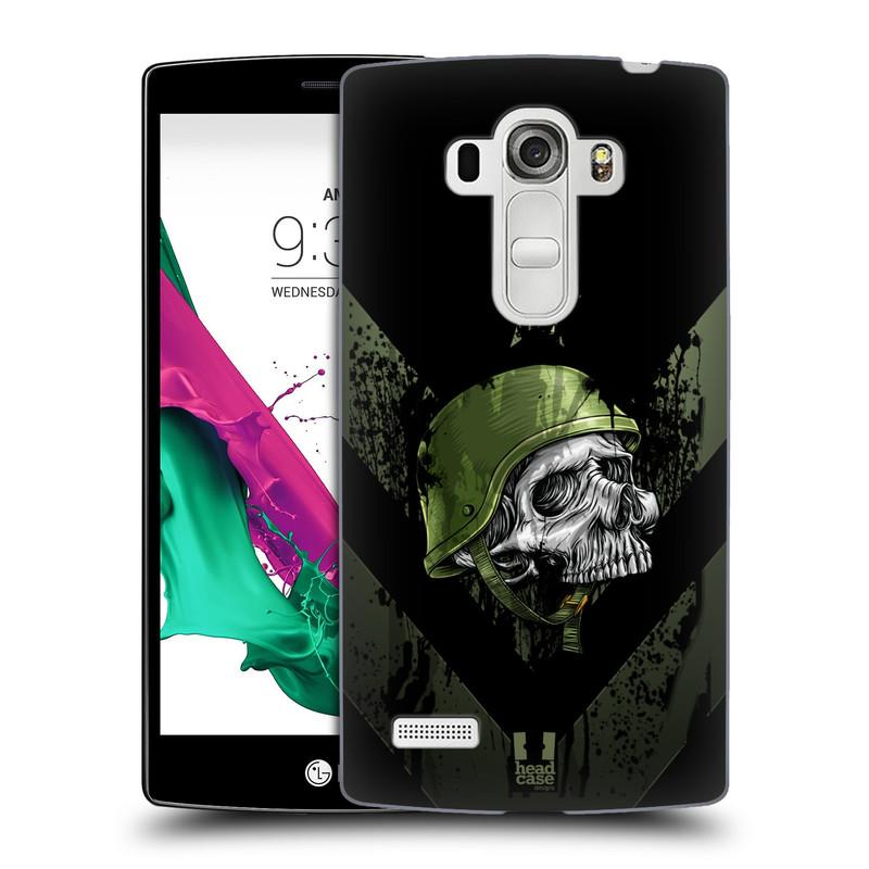 Plastové pouzdro na mobil LG G4s HEAD CASE LEBKA ONE MAN (Kryt či obal na mobilní telefon LG G4s H735n)